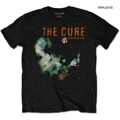 Official T Shirt THE CURE Rock Punk 'Disintegration' Album Cover All Sizes