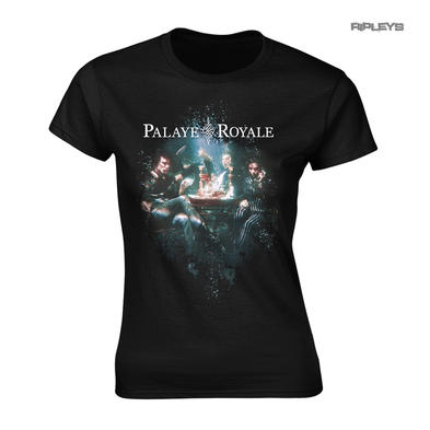 Official Ladies T Shirt PALAYE ROYALE 'Boom Boom Room' Album Side B All Sizes
