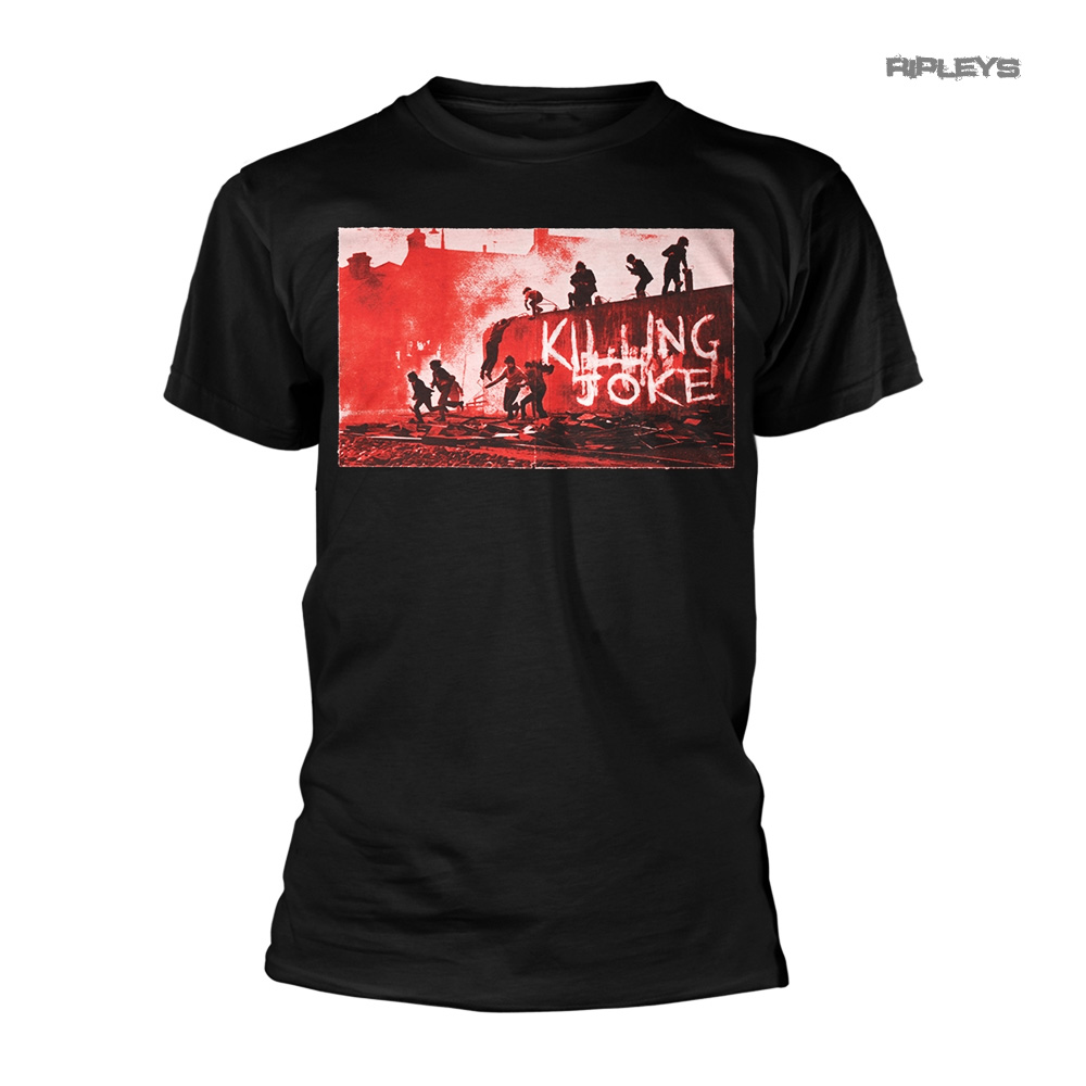 Official-T-Shirt-KILLING-JOKE-Rock-039-First-Album-039-Cover-1980-All-Sizes thumbnail 2