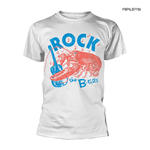 Official T Shirt THE B-52S B-52's New Wave 'Rock Lobster' White All Sizes Thumbnail 1
