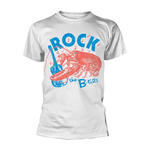 Official T Shirt THE B-52S B-52's New Wave 'Rock Lobster' White All Sizes Thumbnail 2
