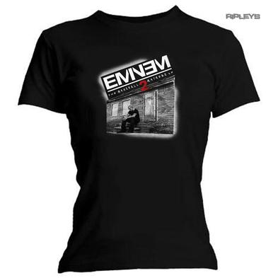 Official Ladies T Shirt  EMINEM Slim Shady 'Marshall Mathers 2' All Sizes