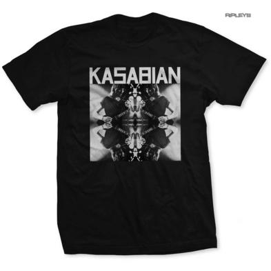 Official Licensed T Shirt KASABIAN 'Solo Reflect' Black All Sizes Preview