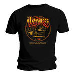 Official T Shirt Black THE DOORS Band '1968 Retro Circle Live' All Sizes Thumbnail 2
