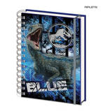 Official JURASSIC WORLD 3D Notebook Journal Stationery Gift BLUE Velociraptor  Thumbnail 1