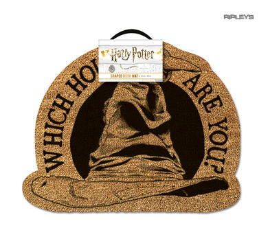 Official Coir Doormat Novelty Gift HARRY POTTER Which House Are You?