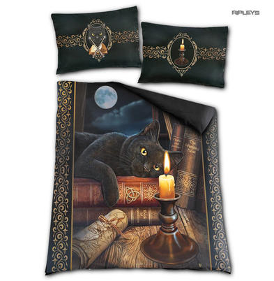 Spiral Direct BEDDING Duvet & Pillowcase THE WITCHING HOUR Cat  Double Preview