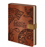 Official Game Of Thrones SIGILS Premium Clasp Notebook Journal Stationery Gift Thumbnail 2