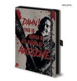 Official The Walking Dead NEGAN Lucille Premium Notebook Journal Stationery Gift Thumbnail 1