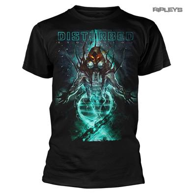 Official T Shirt Metal DISTURBED Evolution Album 'EVOLVE' All Sizes