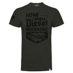 Official DPG T Shirt Diesel Power Gear Love The SMELL of Diesel Grey All Sizes Thumbnail 2