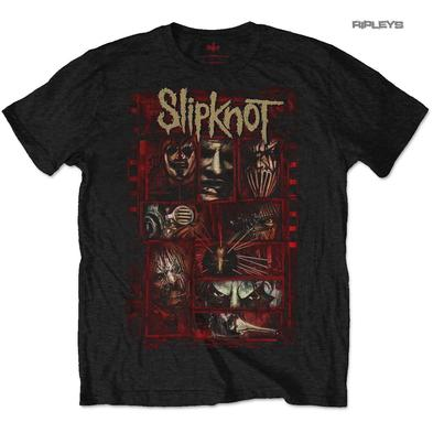 Official T Shirt SLIPKNOT Metal The Gray Chapter 'Sketch Boxes' All Sizes