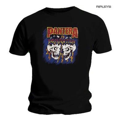 Official T Shirt Metal PANTERA 'Domination Skulls' All Sizes