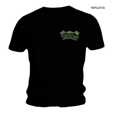 Official WELDERUP Garage Custom Hot Rod Car T Shirt 'GREEN Logo'