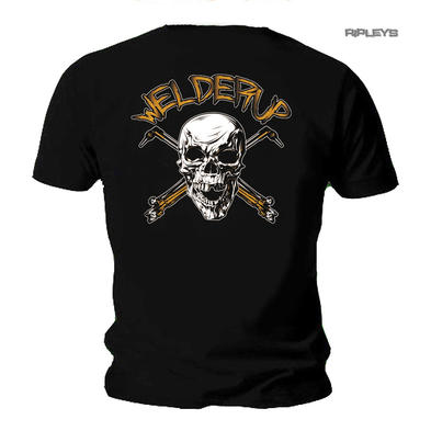 Official WELDERUP Garage Custom Hot Rod Car T Shirt 'Skull & Torch'