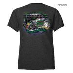 Official WELDERUP Garage Custom Hot Rod Car T Shirt 'JOKER' All Sizes Thumbnail 3