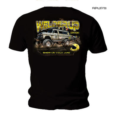 Official WELDERUP Garage Custom Hot Rod Car T Shirt '2 STROKE' All Sizes