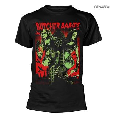 Official T Shirt BUTCHER BABIES Heavy Thrash Metal TOWER of Power #2 All Sizes