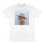 Official Unisex T Shirt LADY GAGA Album Cover JOANNE White All Sizes Thumbnail 1