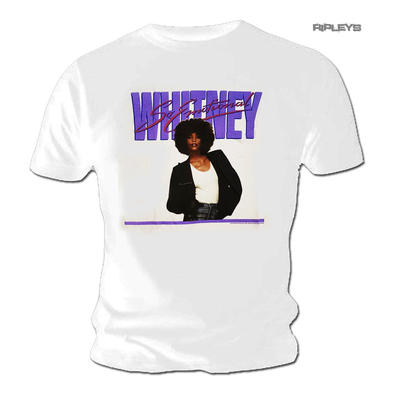 Official T Shirt WHITNEY HOUSTON 'So Emotional' Single 1987
