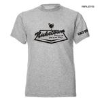 Official Unisex T Shirt Call of Duty Black Ops 4 NUKETOWN 3D Grey Thumbnail 1