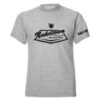 Official Unisex T Shirt Call of Duty Black Ops 4 NUKETOWN 3D Grey Thumbnail 2