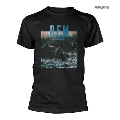 Official Black REM T Shirt R.E.M 'Murmur' Album Cover All Sizes