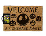 Official Coir Doormat Novelty Gift Nightmare Before Christmas NIGHTMARE Jack Thumbnail 2