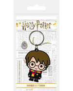 Official HARRY POTTER Rubber Keychain Keyring Novelty Gift CHIBI Characters Thumbnail 2
