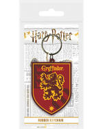 Official HARRY POTTER Rubber Keychain Keyring Novelty Gift HOGWARTS Houses Thumbnail 3