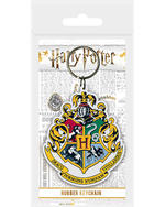 Official HARRY POTTER Rubber Keychain Keyring Novelty Gift HOGWARTS Houses Thumbnail 2