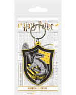 Official HARRY POTTER Rubber Keychain Keyring Novelty Gift HOGWARTS Houses Thumbnail 4