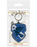 Official HARRY POTTER Rubber Keychain Keyring Novelty Gift HOGWARTS Houses Thumbnail 5