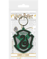 Official HARRY POTTER Rubber Keychain Keyring Novelty Gift HOGWARTS Houses Thumbnail 6