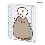 Official Emoji PUSHEEN The Cat Notebook Journal Cute Stationery Gift Thumbnail 1