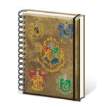 Official HARRY POTTER Notebook Journal HOGWARTS House Crests Stationery Gift Thumbnail 2