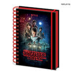 Official STRANGER THINGS Notebook Journal POSTER Stationery Gift Thumbnail 1
