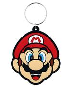 Official SUPER MARIO 64 Nintendo Game Rubber Keyring Chain Gift Mario Thumbnail 2