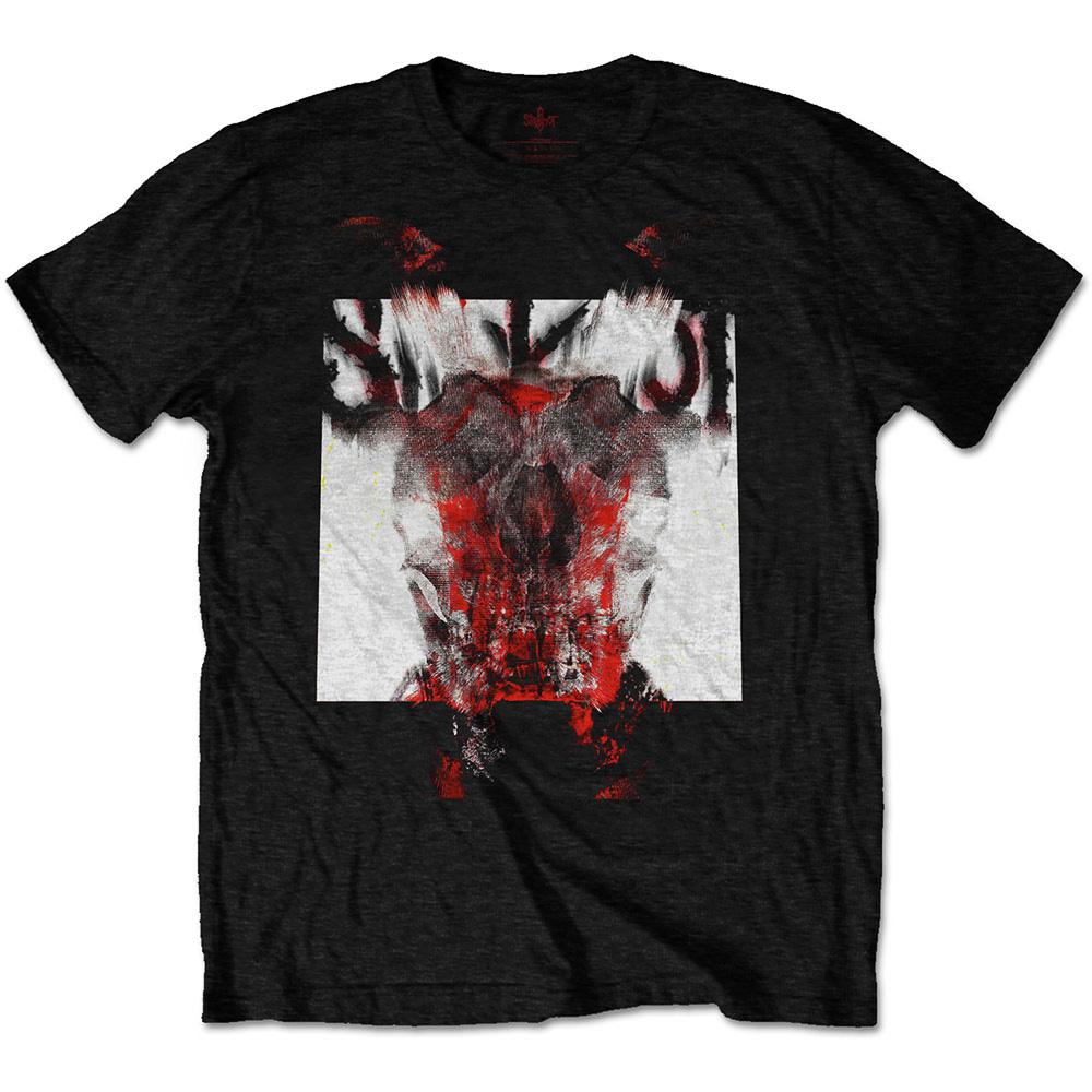 Official-T-Shirt-SLIPKNOT-Metal-Devil-Single-Cover-BLUR-Logo-All-Sizes thumbnail 3