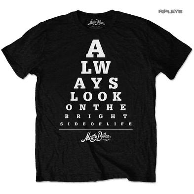 Official T Shirt MONTY PYTHON  'Bright Side of Life' Eye Test All Sizes