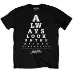 Official T Shirt MONTY PYTHON  'Bright Side of Life' Eye Test All Sizes Thumbnail 2