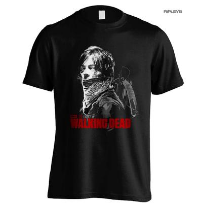 Official T Shirt The Walking Dead Daryl Dixon BANDANA Banner All Sizes