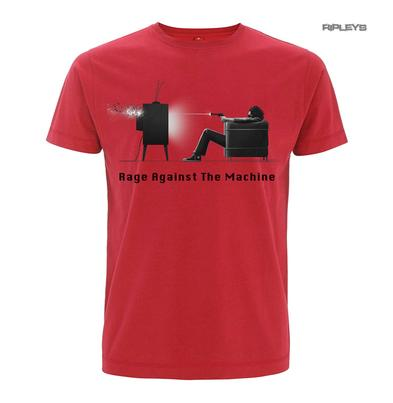 Official T Shirt RAGE AGAINST THE MACHINE  Red  Won't Do EXPLICIT All Sizes