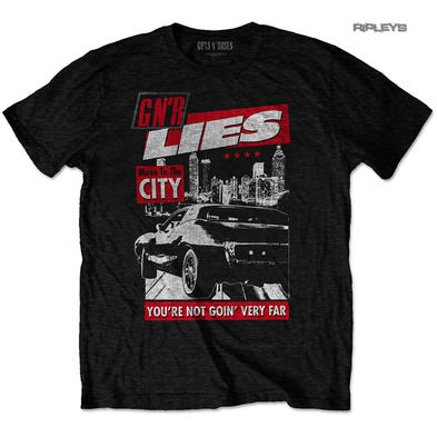 Official T Shirt Guns n Roses 30th Anniversary Lies 'Move to the City' All Sizes