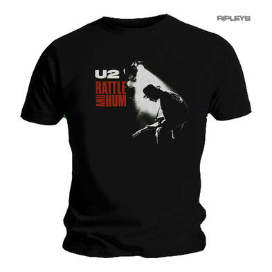 Official T Shirt Classic Rock  U2  Album Cover  'Rattle & Hum' All Sizes