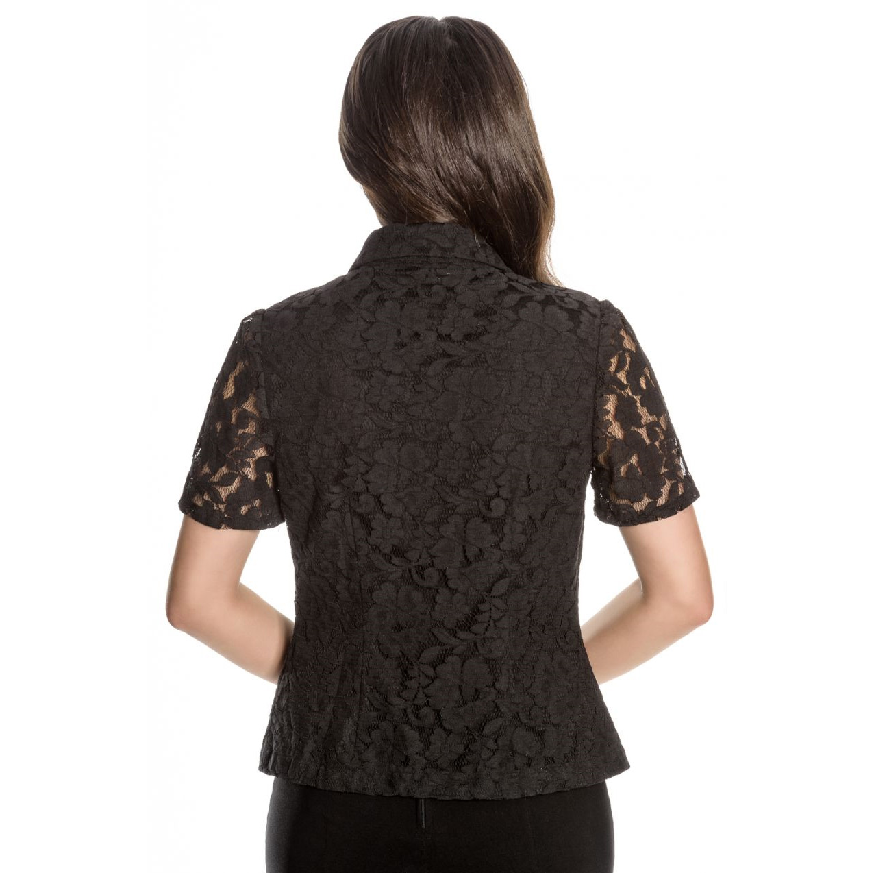 Hell-Bunny-Spin-Doctor-Vampire-Gothic-Shirt-Top-ROWENA-Lace-Blouse-All-Sizes Indexbild 13