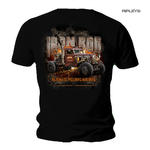 Official WELDERUP Garage Custom Hot Rod Car T Shirt 'IRON ROD' All Sizes Thumbnail 1