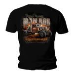 Official WELDERUP Garage Custom Hot Rod Car T Shirt 'IRON ROD' All Sizes Thumbnail 2