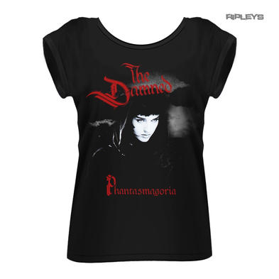 Official Ladies Oversized T Shirt Punk Rock THE DAMNED Phantasmagoria
