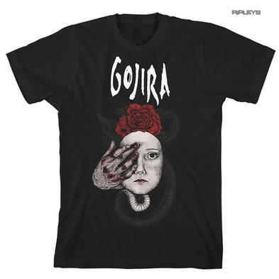 Official T Shirt Black GOJIRA Heavy Metal 'Snake Crown'  All Sizes
